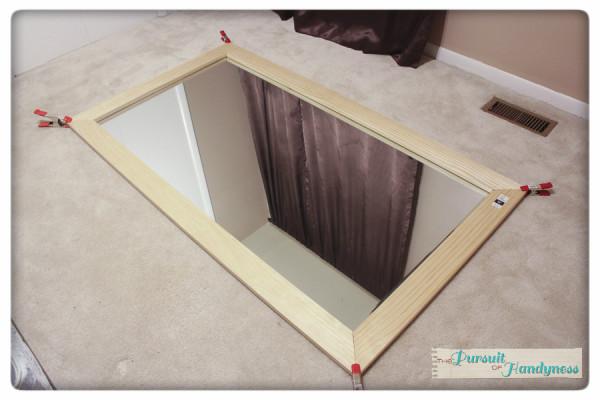 Diy Easy Framed Mirrors: Who Framed The Yard Sale Mirror???