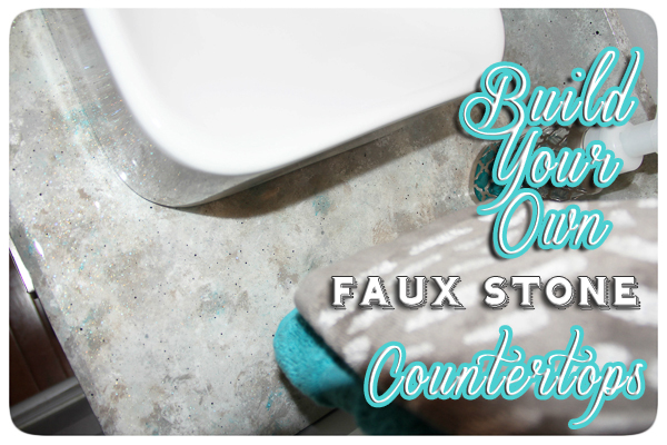 Diy A Faux Stone Countertop