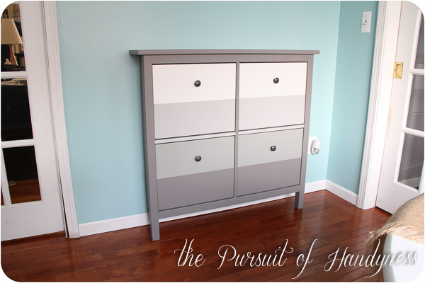 Ikea Hemnes Shoe Cabinet Hack (17 of 25)