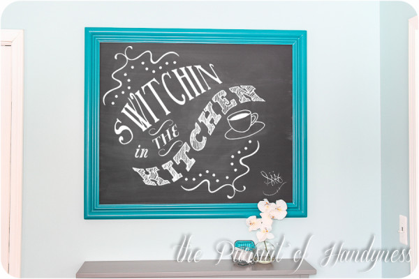 Build your own Chalkboard Frame -