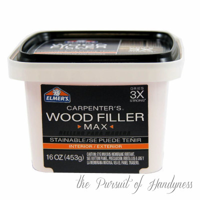 elmer wood filler how to use