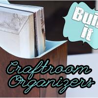 Custom Built Craftroom Organizer