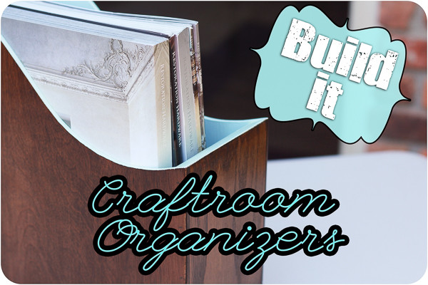 Custom Built Craftroom Organizer