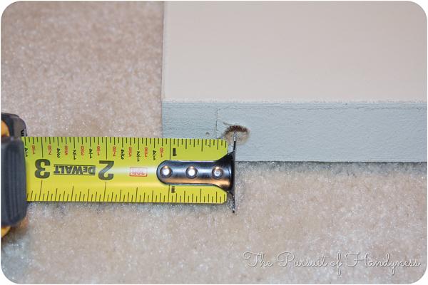 how to cut down a bifold door