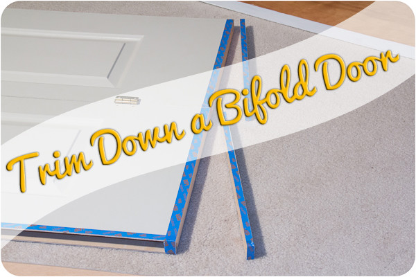 Trim Down Bifold Doors – A Tutorial