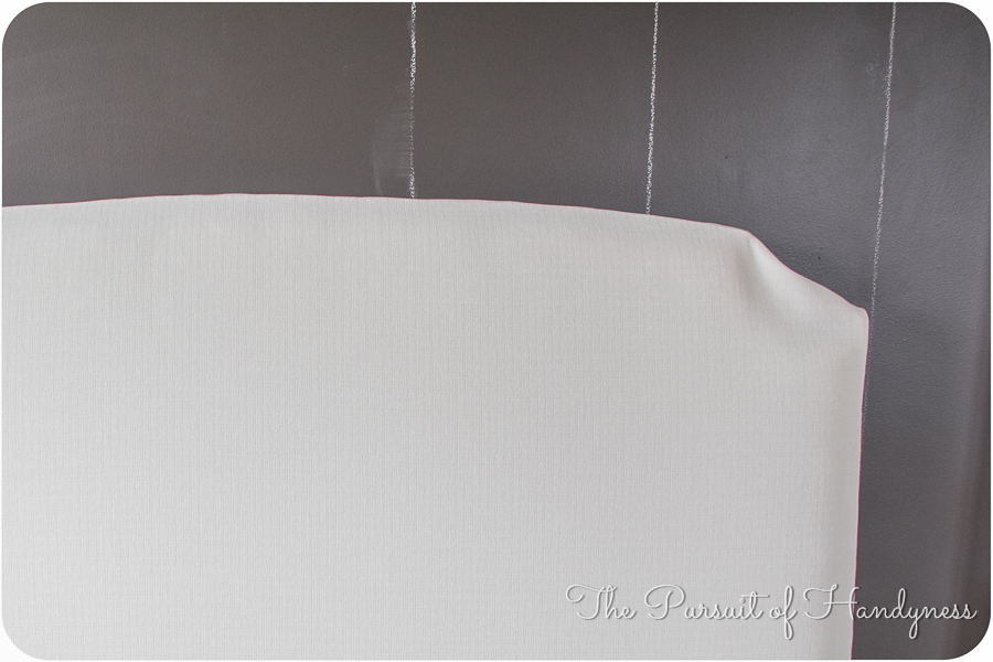 Upholstered King Headboard with Nailhead Trim -