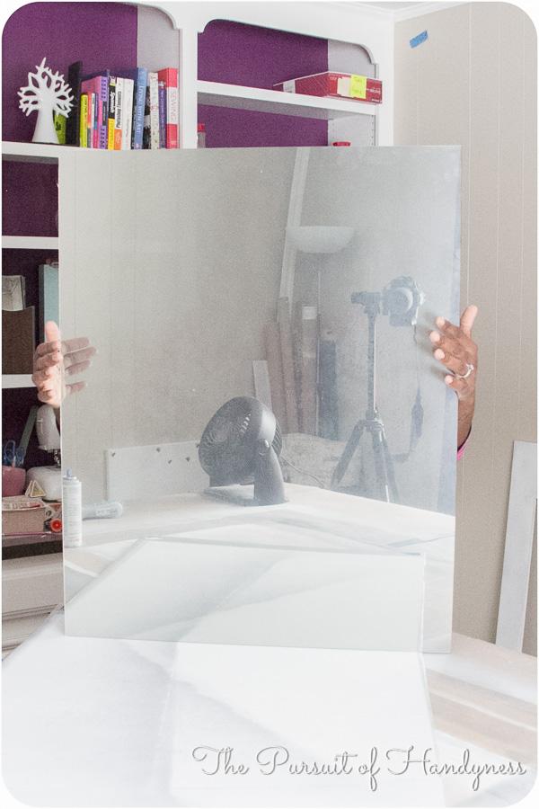 Distressed Mirror Glass Tutorial -11