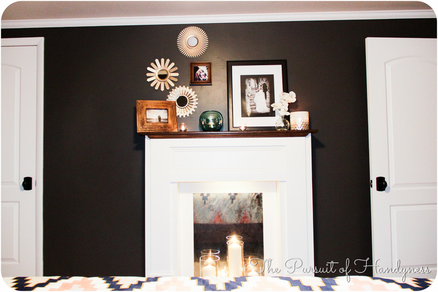 Diy Faux Fireplace -11