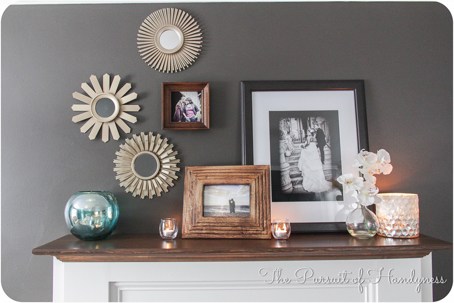 Diy Faux Fireplace -14
