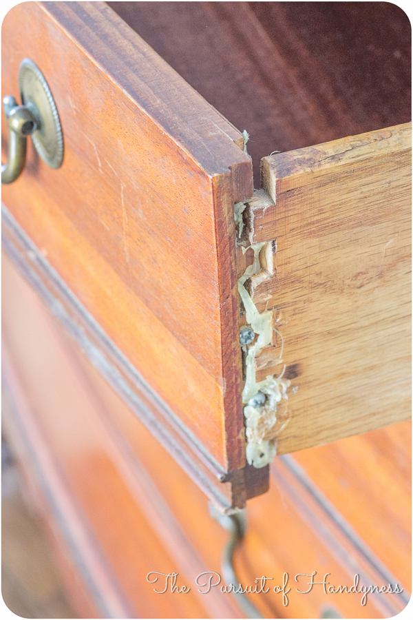 Refinished Bow Front Chest-3