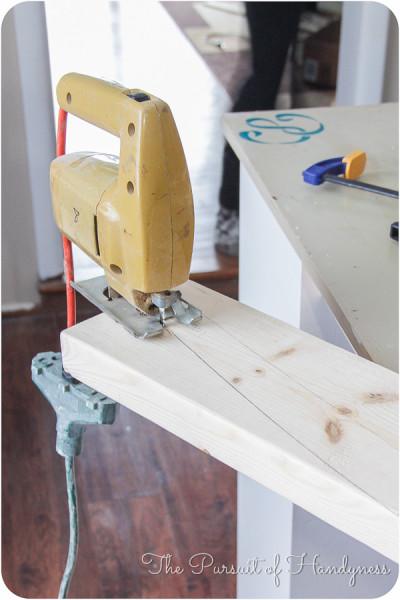 DIY Upholstered Settee-10