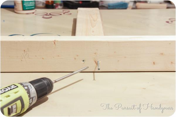 DIY Upholstered Settee-14