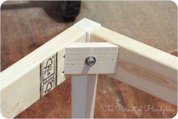 DIY Upholstered Settee-17