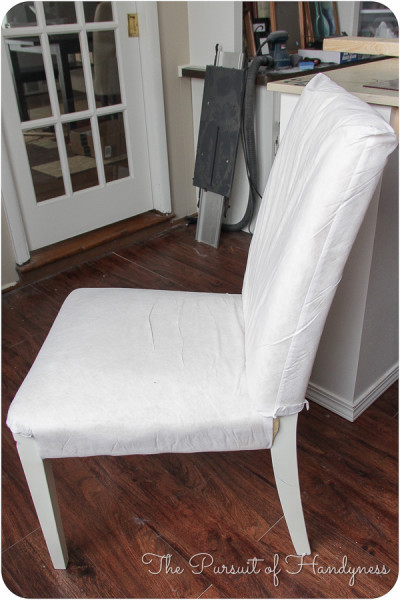 DIY Upholstered Settee