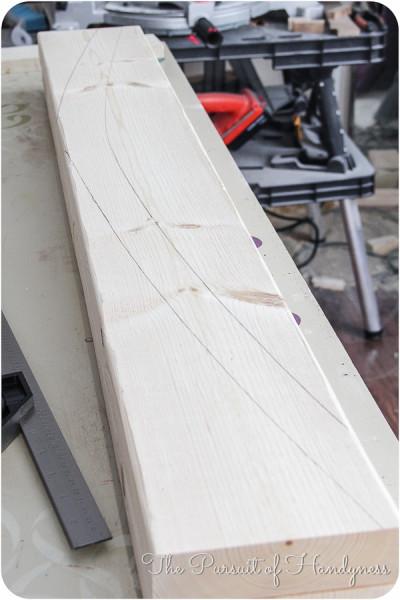 DIY Upholstered Settee-9