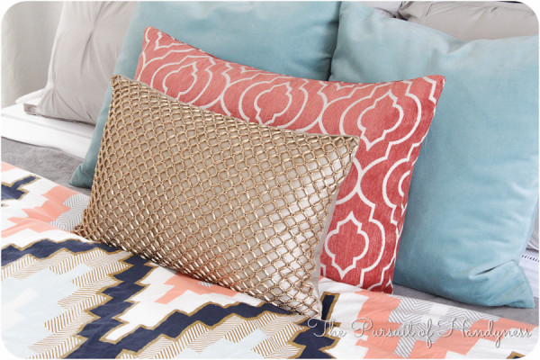 Gold Pier 1 Pillow