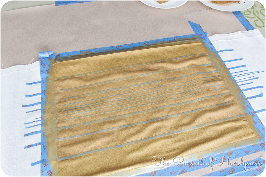 Painted Striped Pillow Tutorial-15