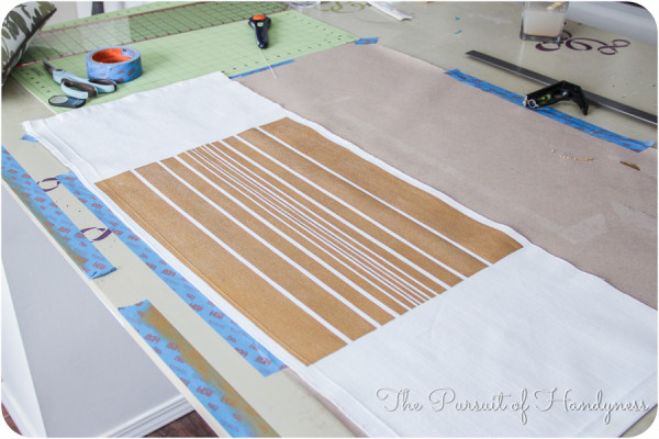 Painted Striped Pillow Tutorial-19
