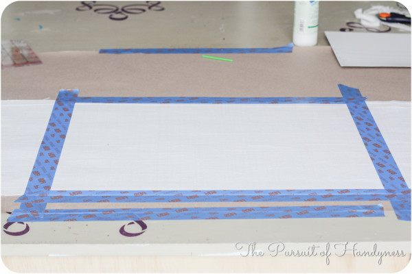 Painted Striped Pillow Tutorial-4