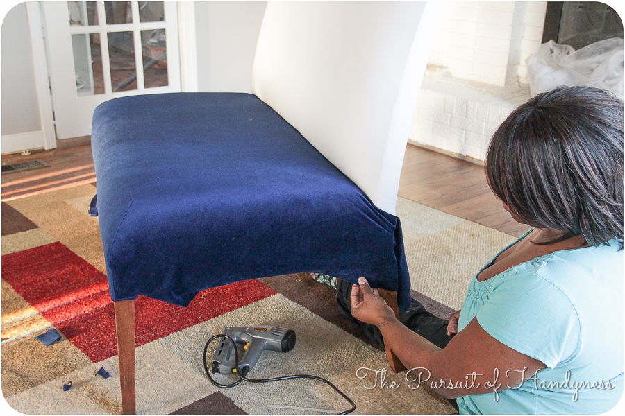 Diy Upholstered Settee Pt. 2-15