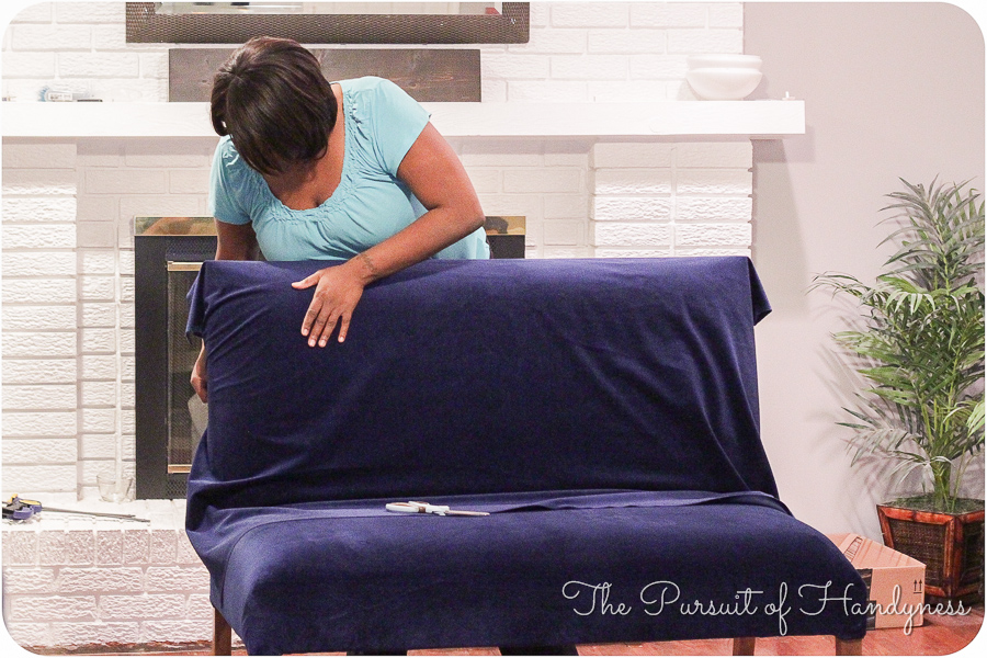 Diy Upholstered Settee Pt. 2-18