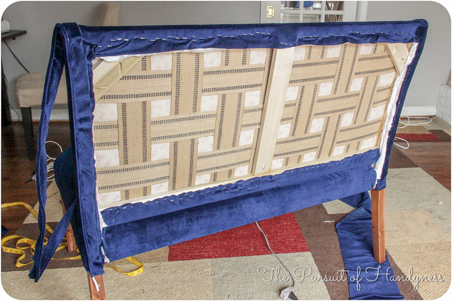 Diy Upholstered Settee Pt. 2-21