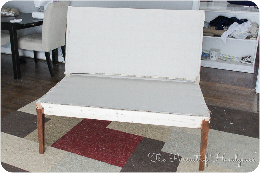 Diy Upholstered Settee Pt. 2-25