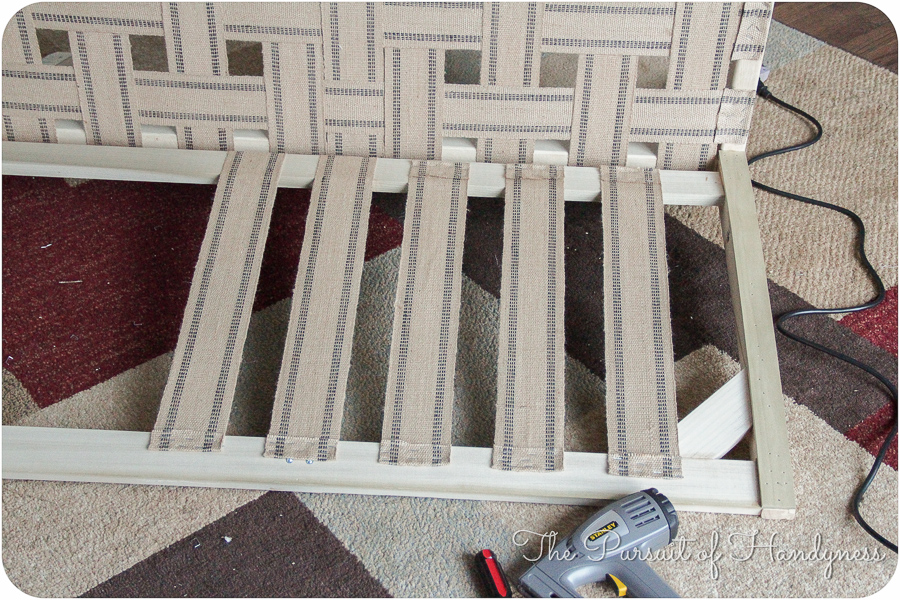 Diy Upholstered Settee Pt. 2-4
