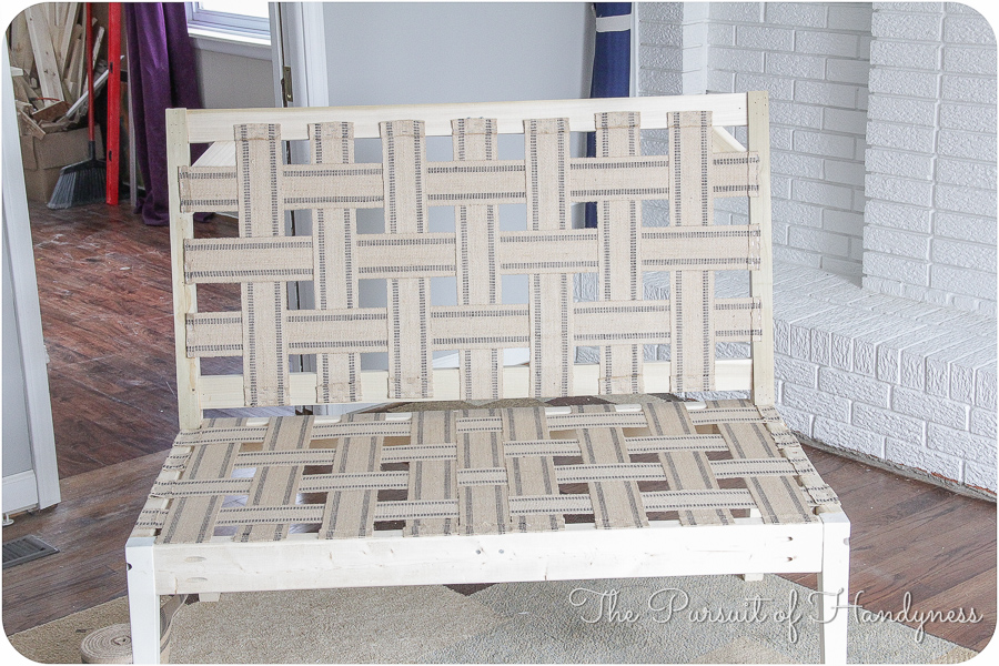 Diy Upholstered Settee Pt. 2-6