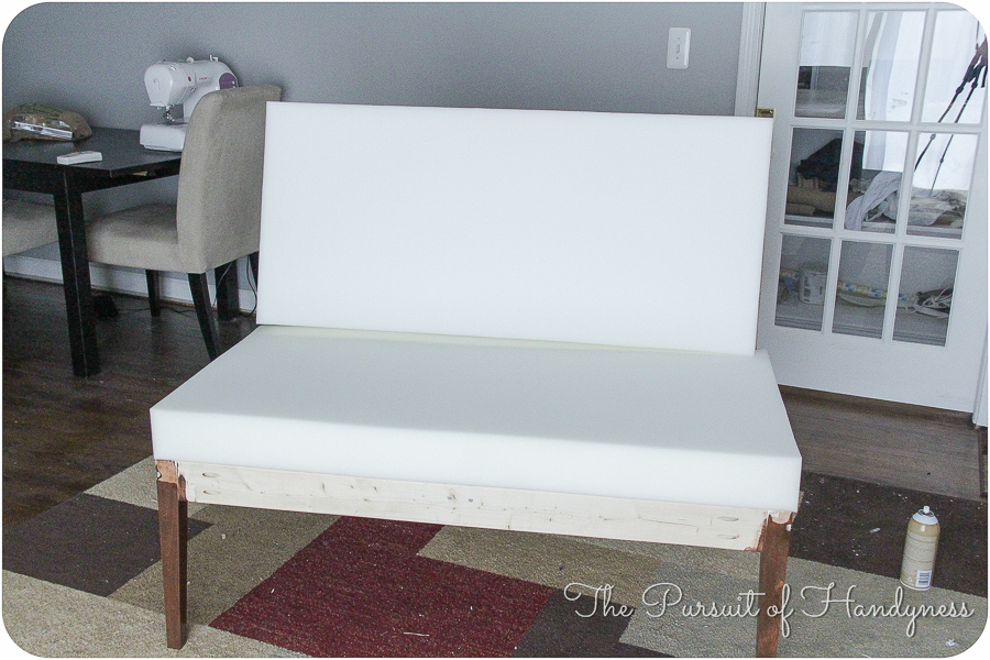 Diy Upholstered Settee Pt. 2-7