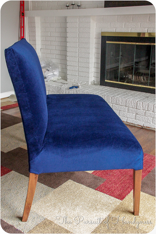 Diy Upholstered Settee Pt. 3 -13