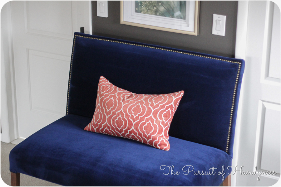 Diy Upholstered Settee Pt. 3 -25