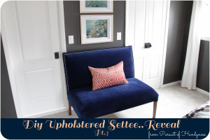 Diy Upholstered Settee Pt. 3 Feature-1
