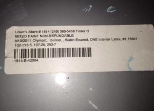 Kitchen Paint Color Formula 2013