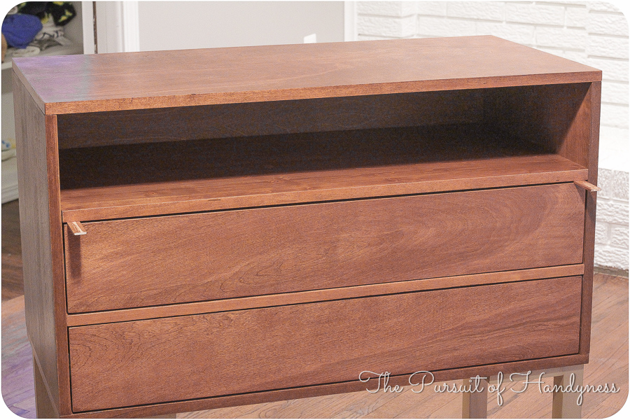 Bedside Dresser Bachelors Chest Completed (15 of 24)