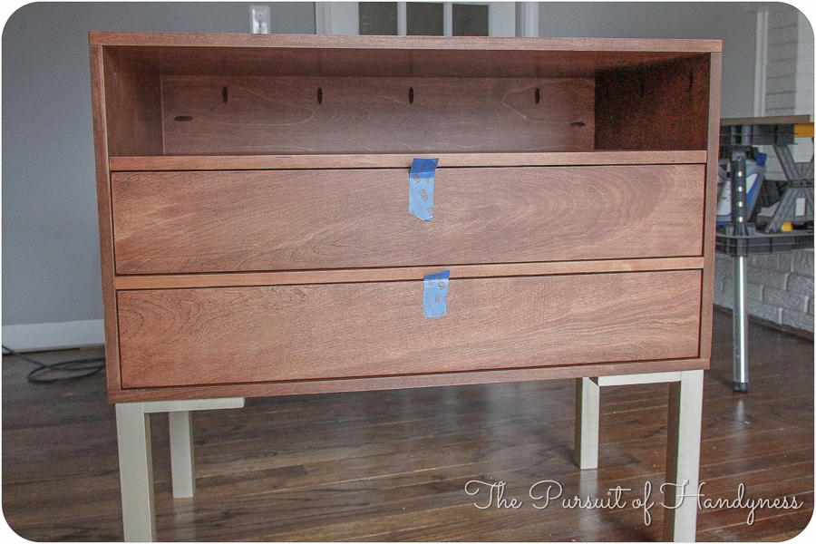 Bedside Dresser Bachelors Chest Completed (18 of 24)