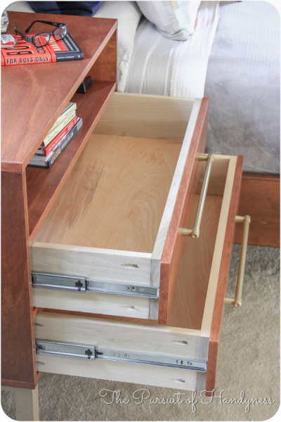 Bedside Dresser Bachelors Chest Completed  (25 of 2)