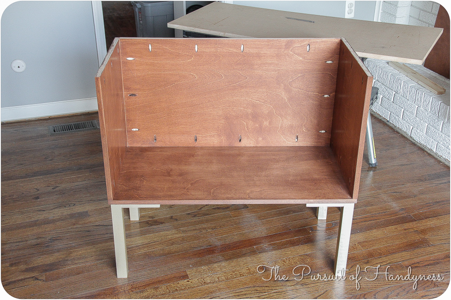 Bedside Dresser Bachelors Chest Completed (7 of 24)