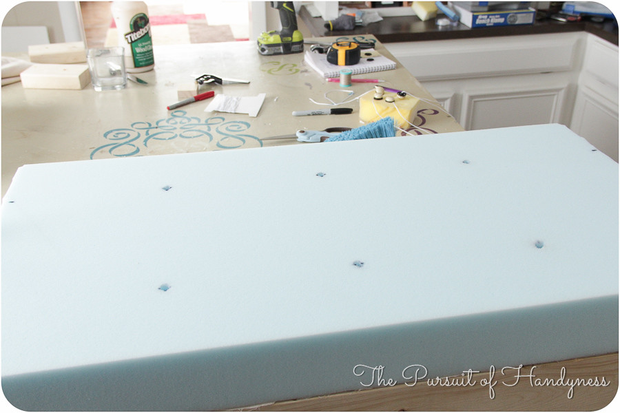 Wayfair Inspired Diy Bench -4