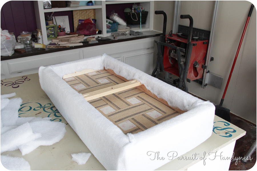 Wayfair Inspired Diy Bench -6