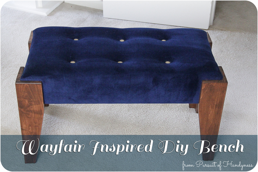 Wayfair Inspired Diy Bench Feature-1