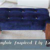 Wayfair Inspired Diy Bench Tutorial