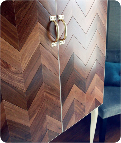 Diy Herringbone Chest  (1 of 1)