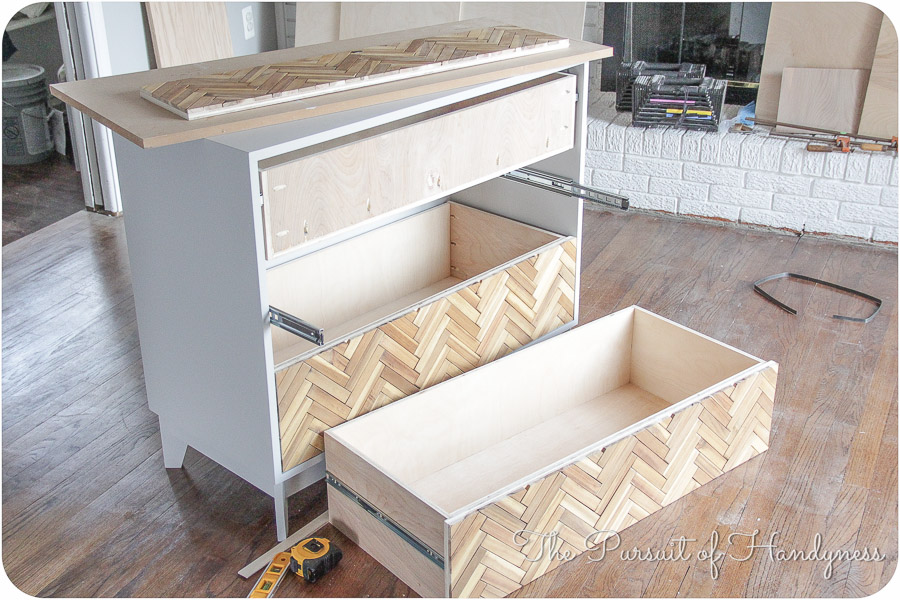 Diy Herringbone Chest  (7 of 25)