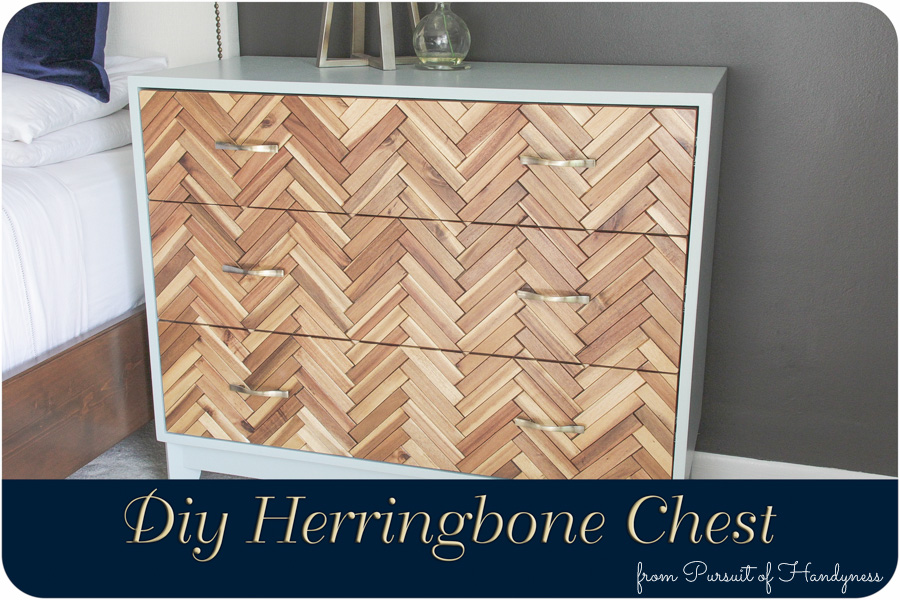 Herringbone Chest Diy (1 of 2)