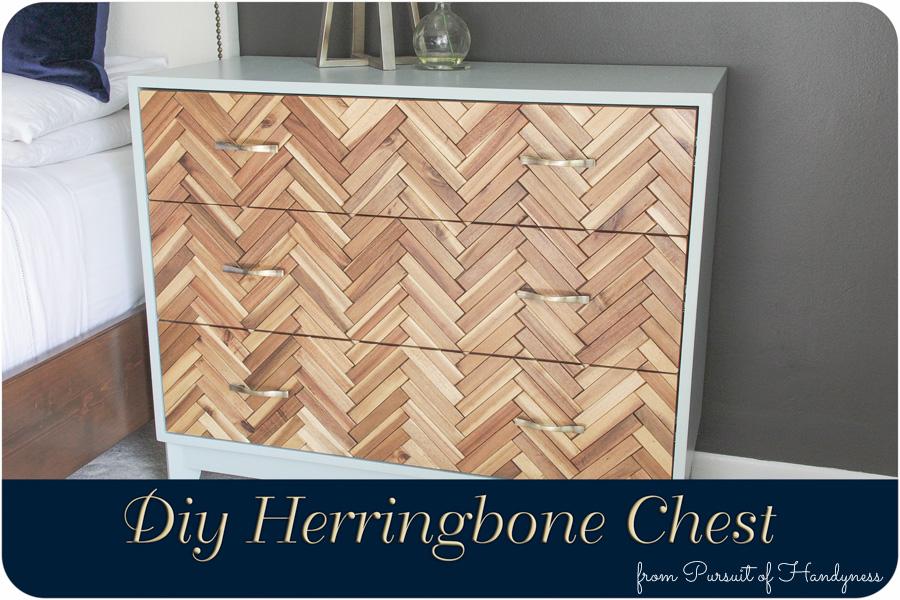 Herringbone Chest Diy (1 of 2)