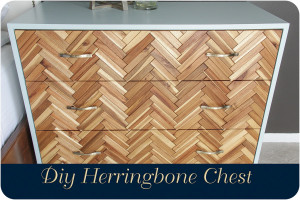 Herringbone Chest Diy Feature (2 of 2)