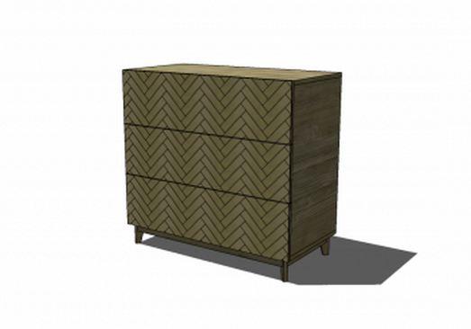 Parquetry Dresser