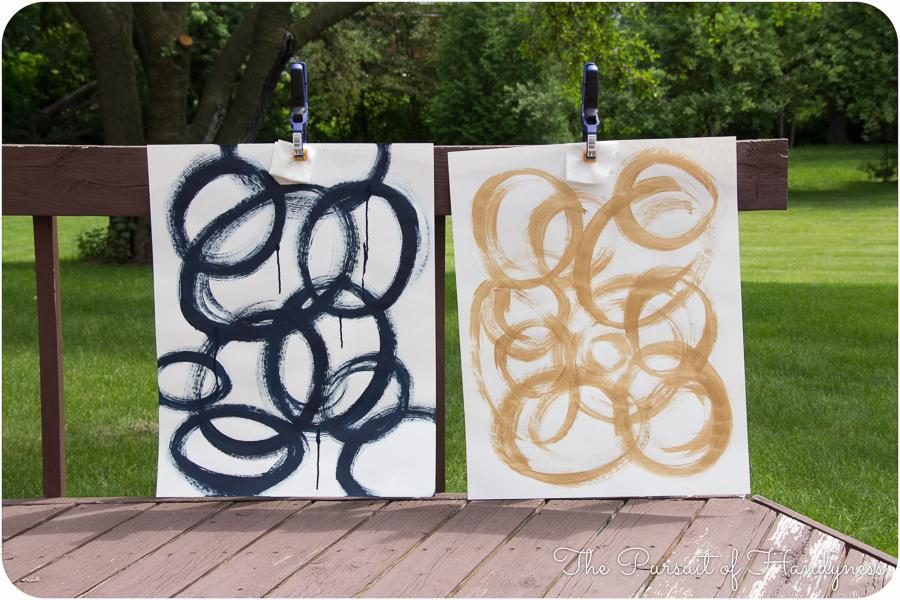 Diy Art Triptych -1
