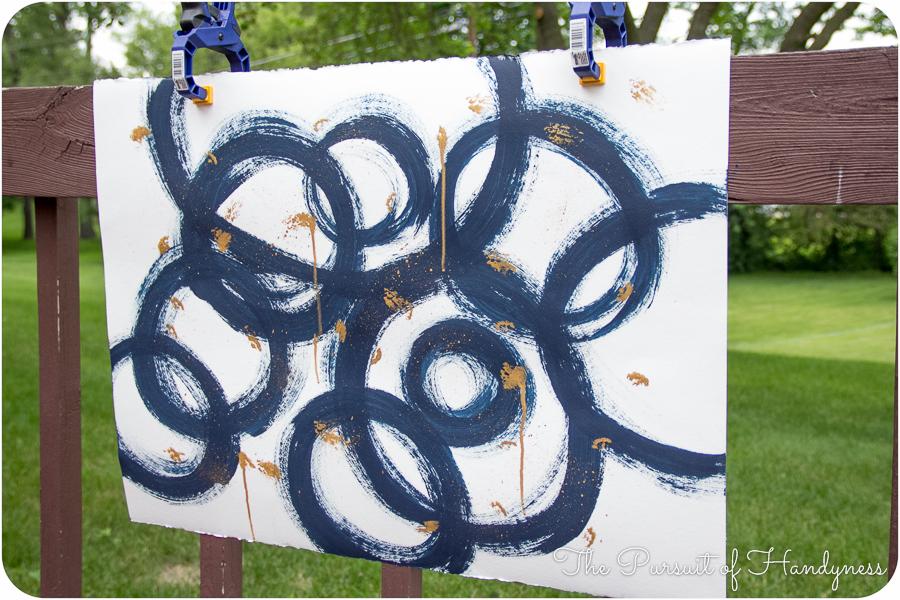 Diy Art Triptych -3